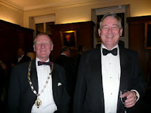 Ian Stephen, President, Hunterian Society and Andrew Wallace-Hadrill, Master, Sidney Sussex College, Cambridge