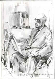 C. Robert Rudolf - 1885-1974 First Curator Emeritus The Hunterian Society Collection